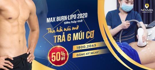 Giảm béo Max Burn Lipo 2020 siêu hủy mỡ - Chỉ còn 5 triệu: CAM KẾT KHÔNG GIẢM HOÀN TIỀN