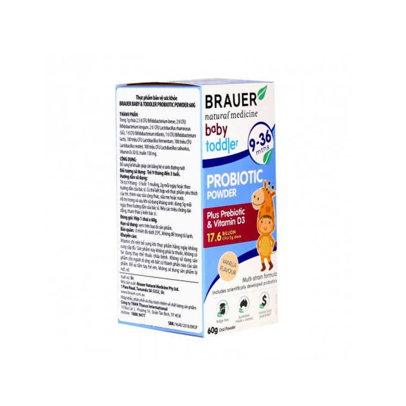 Brauer Baby and Toddler Probiotic