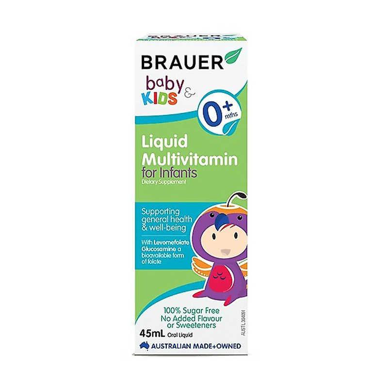 Brauer Baby & Kids Liquid Multivitamin for Infants