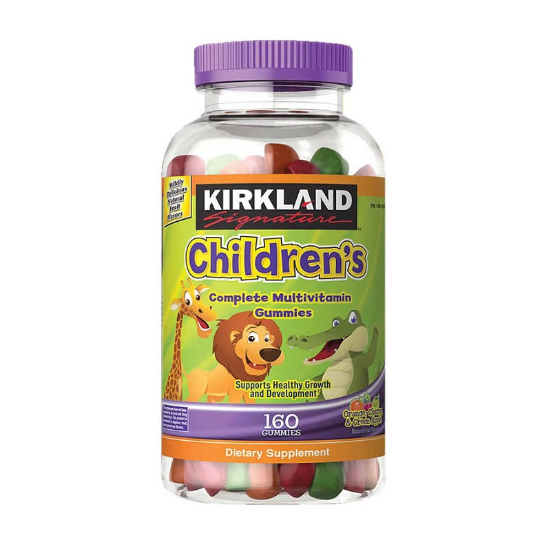 Kẹo Hỗ Trợ Bổ Sung Vitamin Cho Bé Kirkland Children's Multivitamin