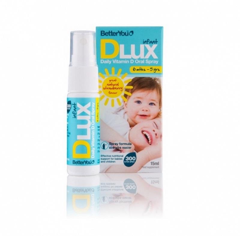 Dlux D3 - Vitamin D3 Dạng Xịt