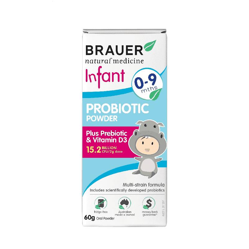 Brauer Infant Probiotic Powder