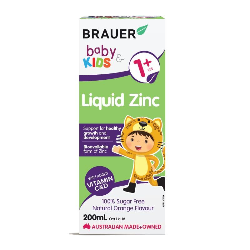 Brauer Baby & Kids Liquid Zinc