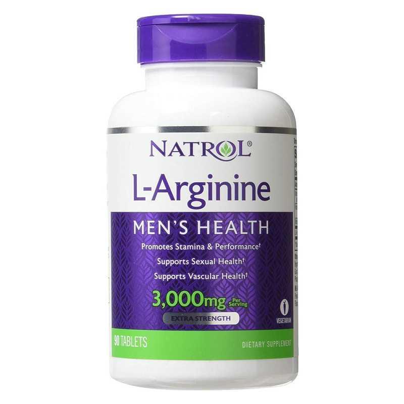 Viên uống Natrol L-Arginine 3000mg