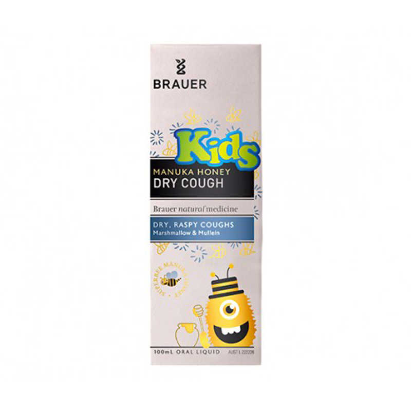 Brauer Honey Kids Dry Cough