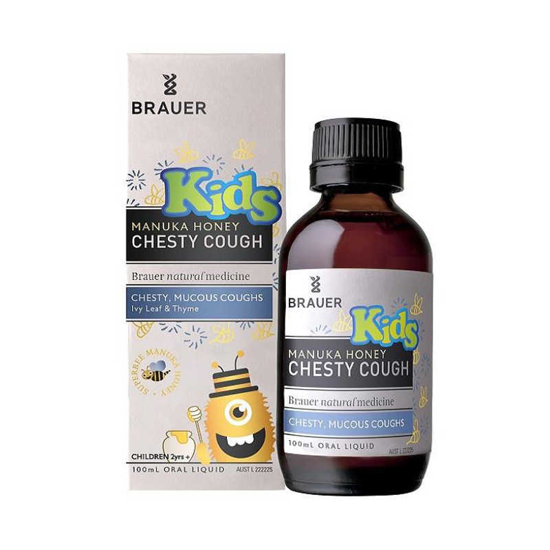 Brauer Honey Kids Chesty Cough