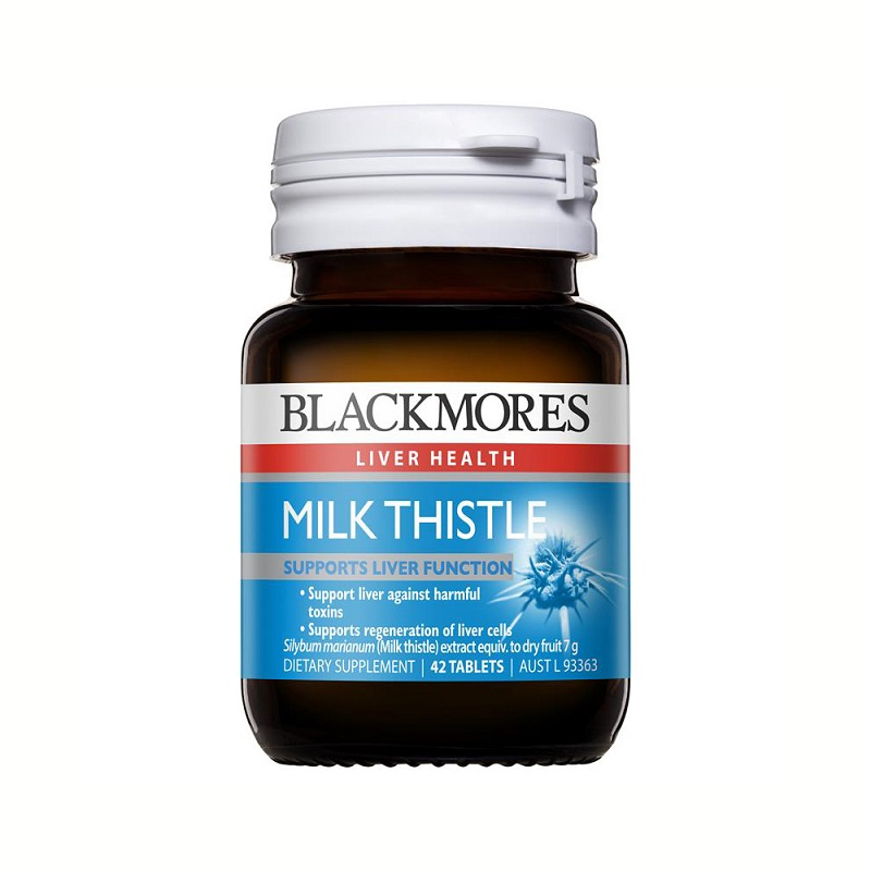 Viên Uống Milk Thistle Blackmore Của Úc Hộp 42 Viên