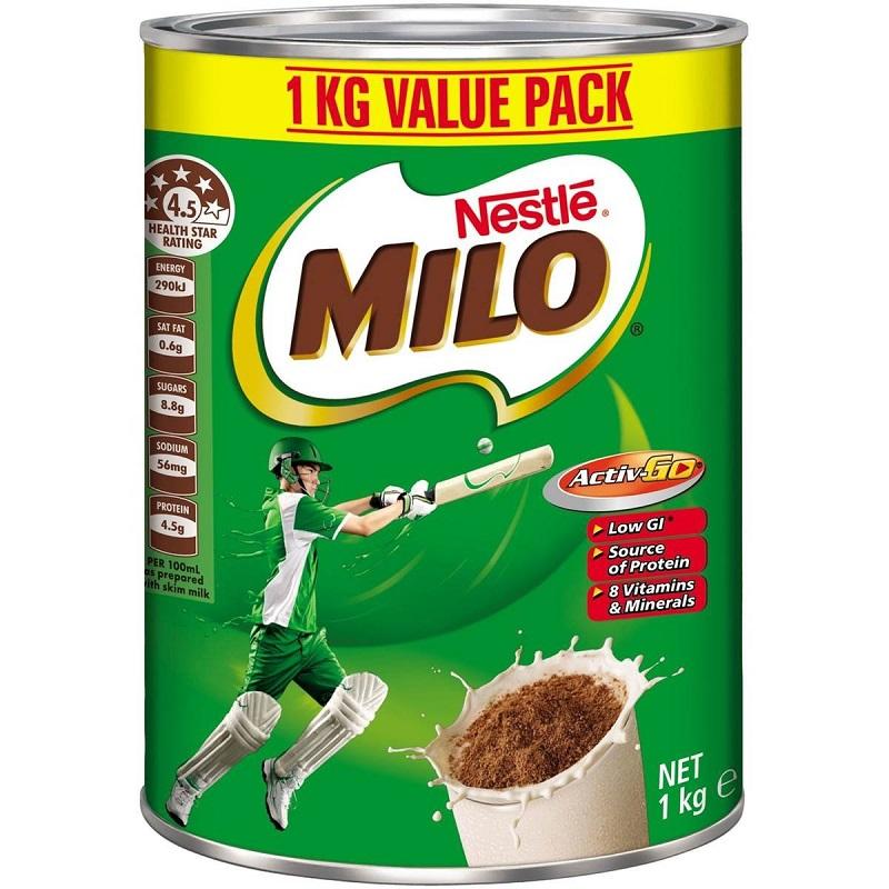 Sữa Milo Úc
