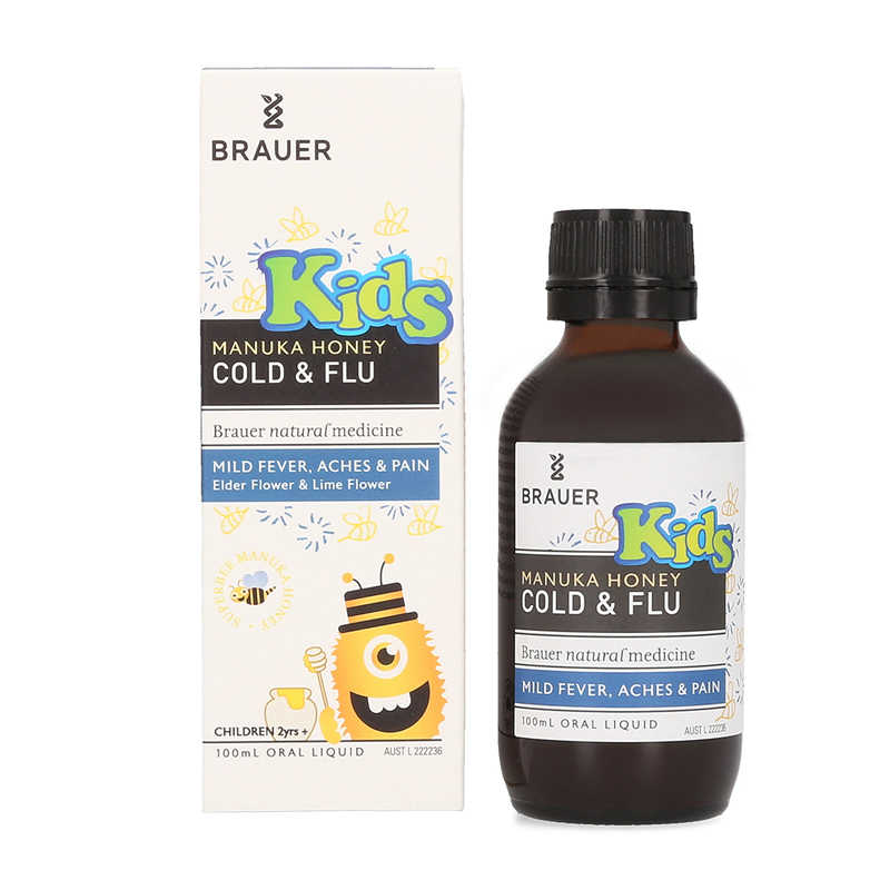 Brauer Honey Kids Cold & Flu
