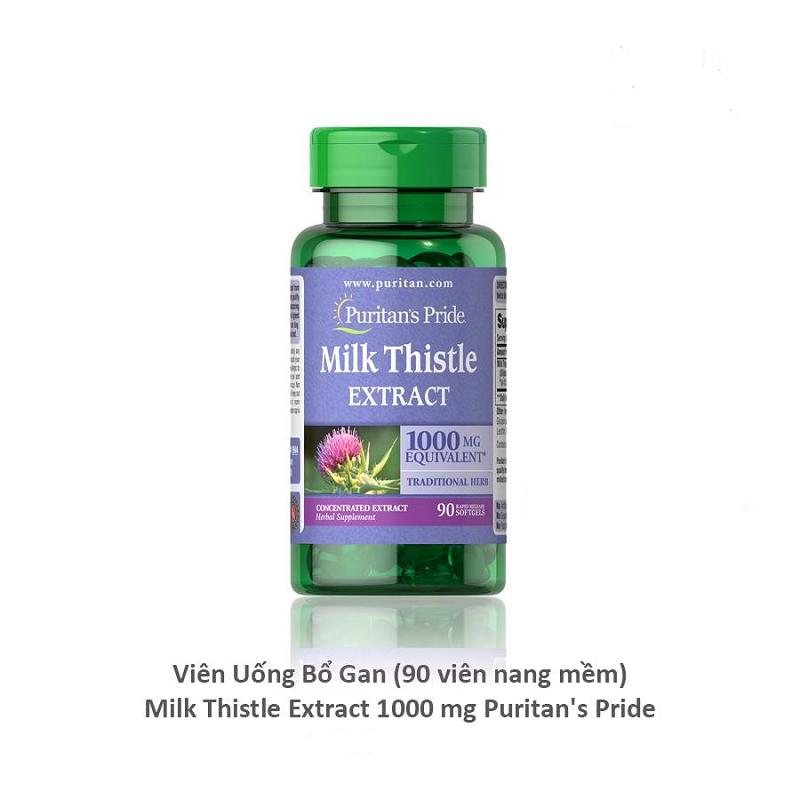 Milk Thistle Extract Hãng Puritan Pride