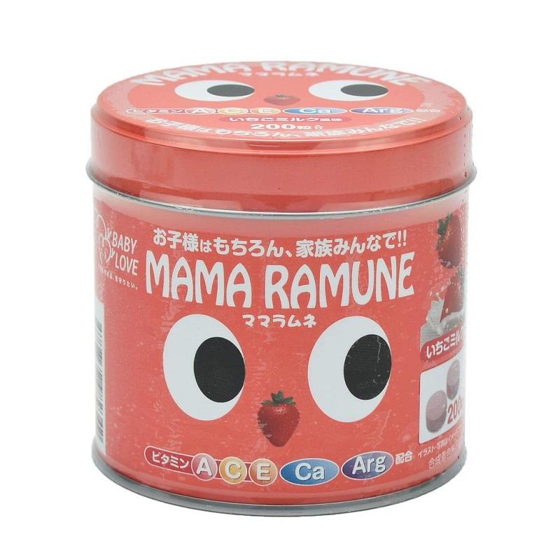 Kẹo Mama Ramune Cho Trẻ Em