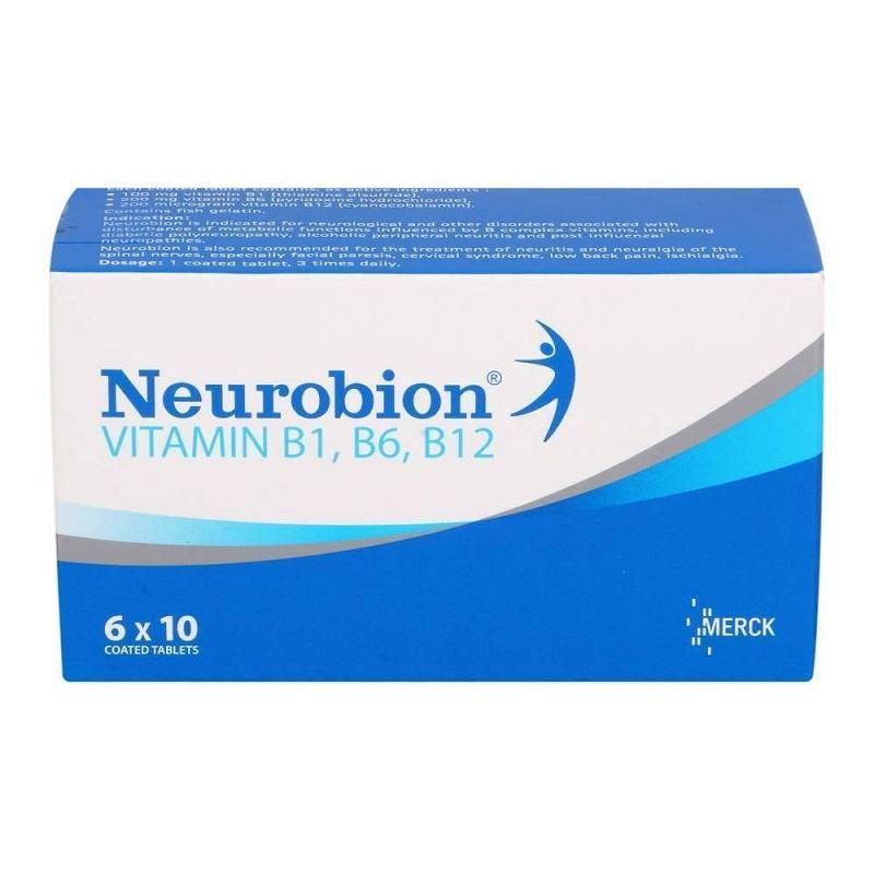 Neurobion viên bổ sung vitamin B1, B6, B12 hộp 5 vỉ - 193