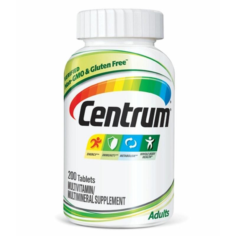 Centrum Adults Vitamin Cho Người Dưới 50 Tuổi