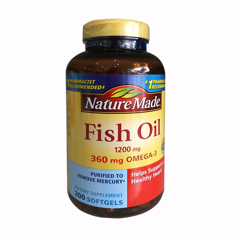 Dầu cá Nature Made Fish Oil