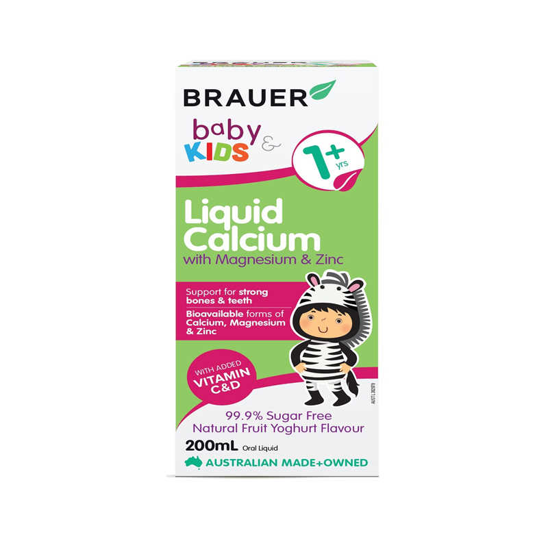 Brauer Baby & Kids Liquid Calcium with Magnesium and Zinc
