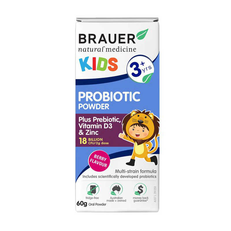 Brauer Kids Probiotic 3+ 60g