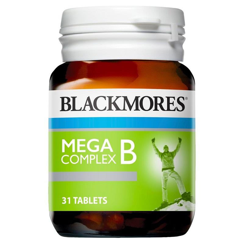 Viên uống bổ sung vitamin nhóm B Blackmores Mega B Complex