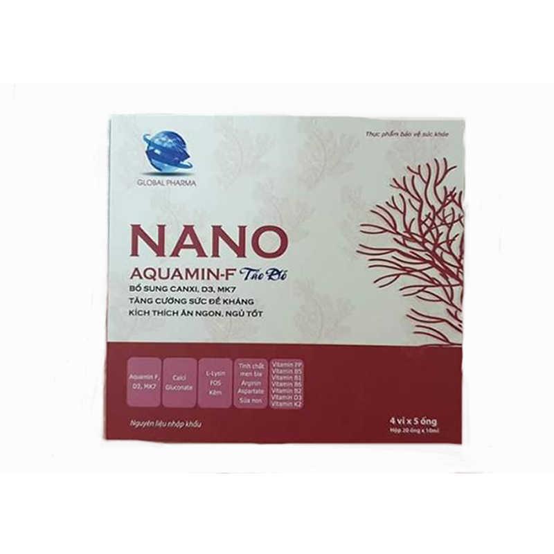 Nano Aquamin-f tảo đỏ